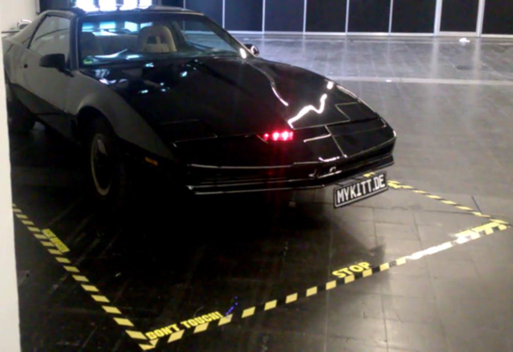 K.I.T.T. - Nachbau des Autos aus Knight Rider
